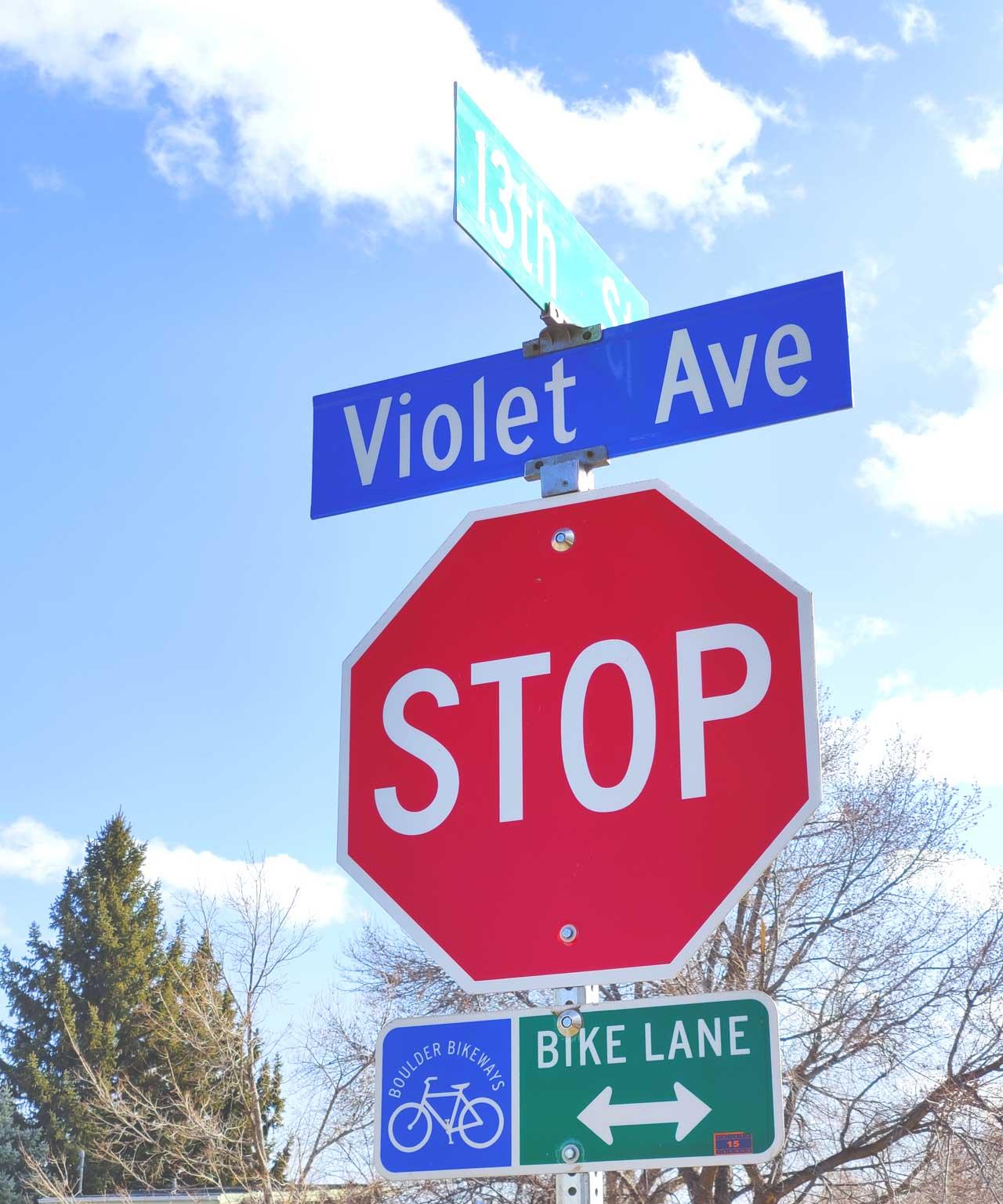 Violet avenue-Boulder